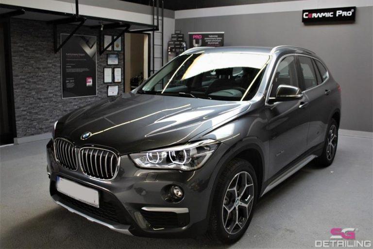 BMW X1 auto detailing