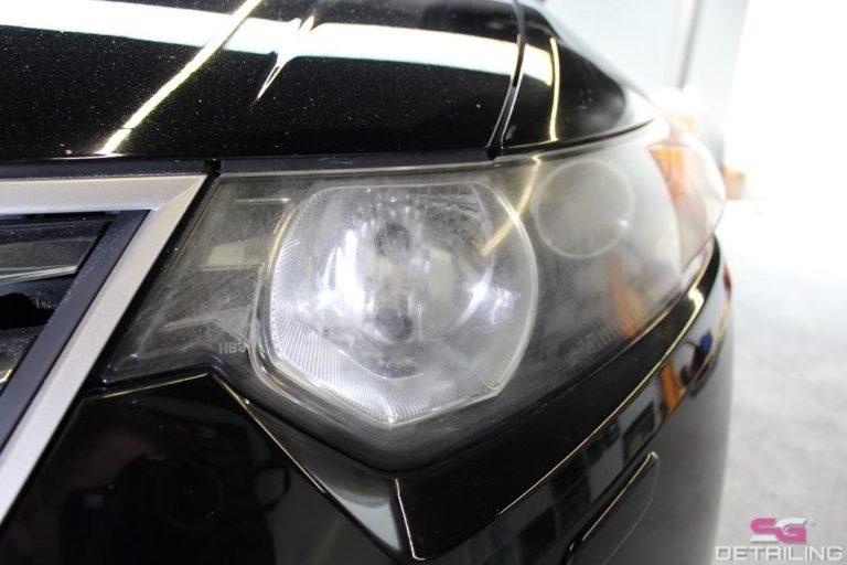 Honda Accord polerowanie lakieru