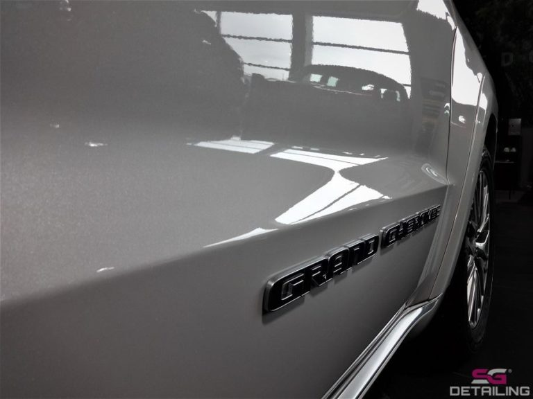 Jeep Grand Cherokee auto detailing
