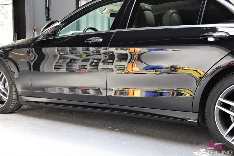 Mercedes Benz S auto detailing
