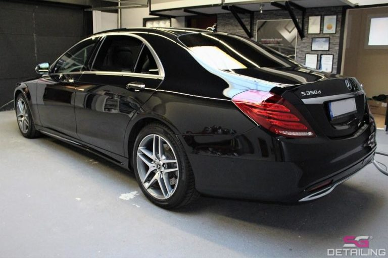 Mercedes Benz S auto detailing Szczecin