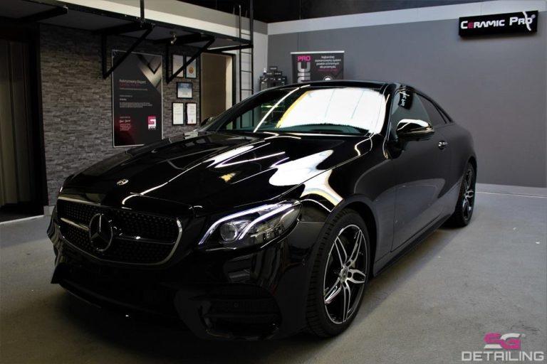 Mercedes E Coupe auto detailing