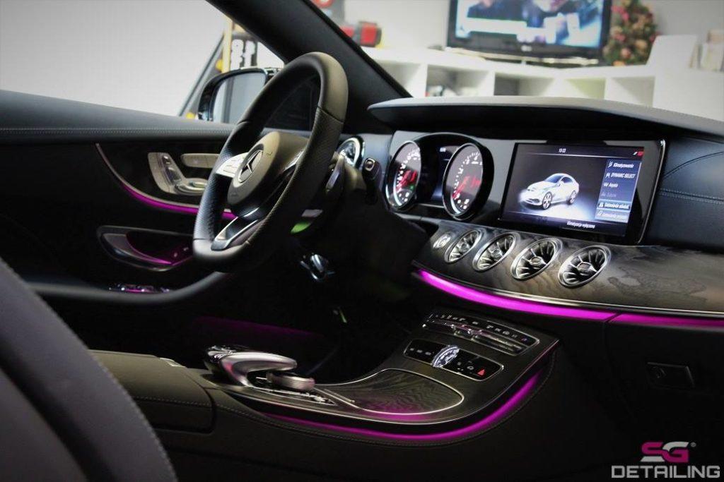 Mercedes E Coupe auto detailing Szczecin