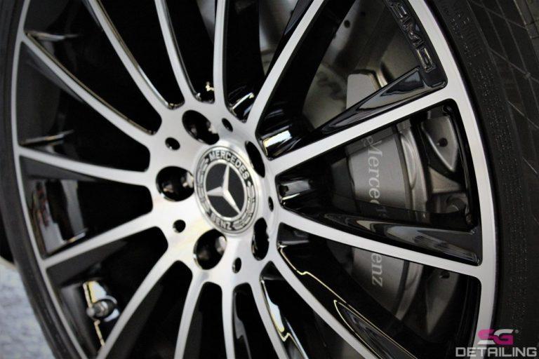 Mercedes S auto detailing