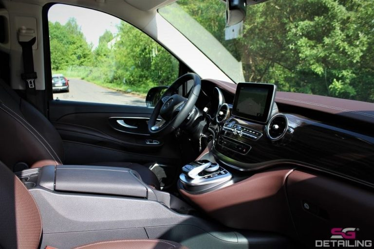 Mercedes V auto detailing Szczecin