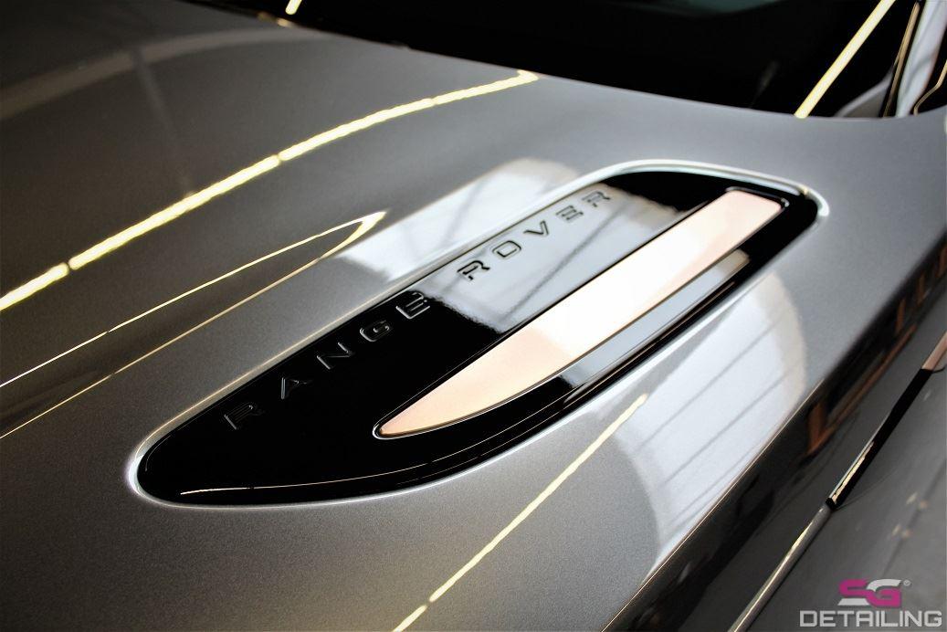 Range Rover Velar auto detailing Szczecin