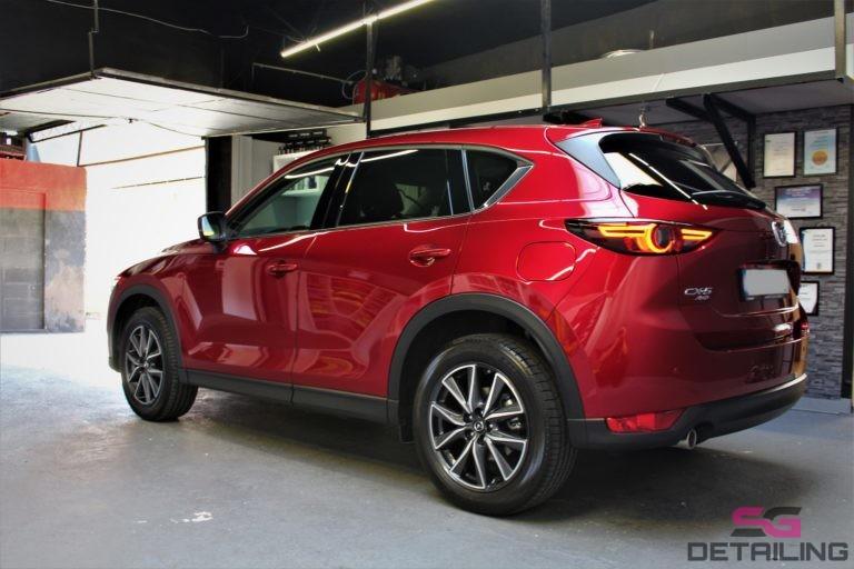 Mazda CX-5 zabezpieczona powloka ceramiczna cermic pro 9h