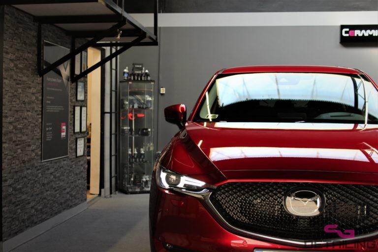 Mazda CX-5 auto detailing szczecin uslugi korekta polerowanie lakieru szczecin