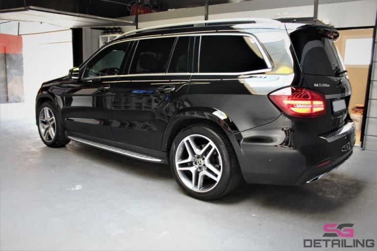 Mercedes GLS auto detailing