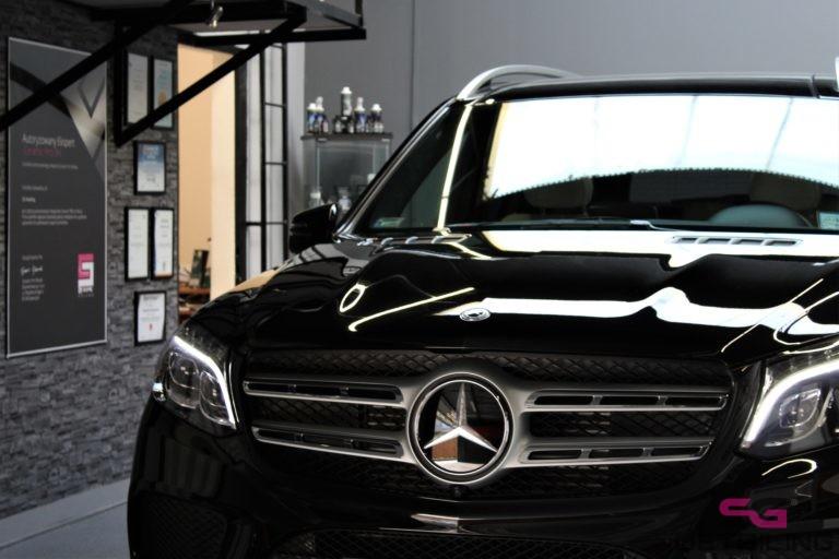 Mercedes GLS auto detailing szczecin