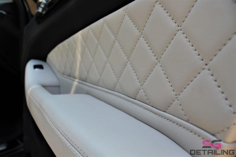 Mercedes GLS konserwacja skór