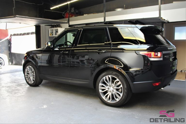 Land Rover Range Rover Sport auto detailing