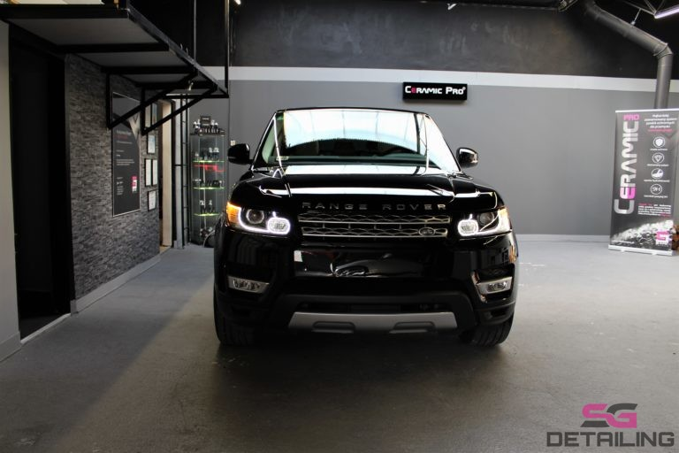 Land Rover Range Rover Sport car detailing szczecin