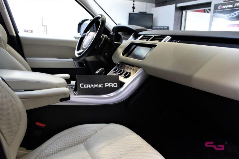 Land Rover Range Rover Sport zabezpieczenie foteli skórzanych