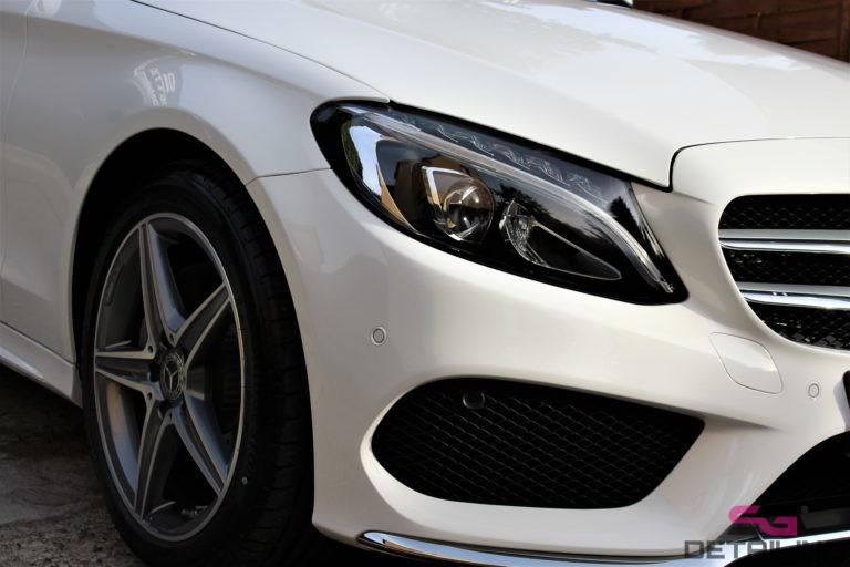 Mercedes C 200 powłoka ceramic pro light