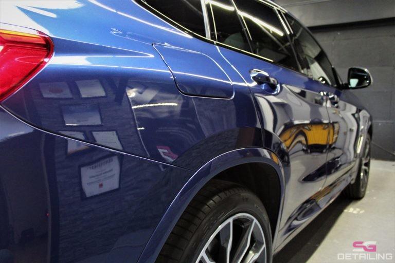 BMW X4 m40i niebieski detailing szczecin