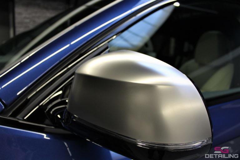 BMW X4 m40i niebieski powłoka ceramiczna auto detailing szczecin