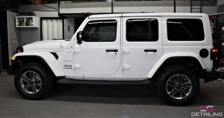 Jeep Wrangler Unlimited biały 2018