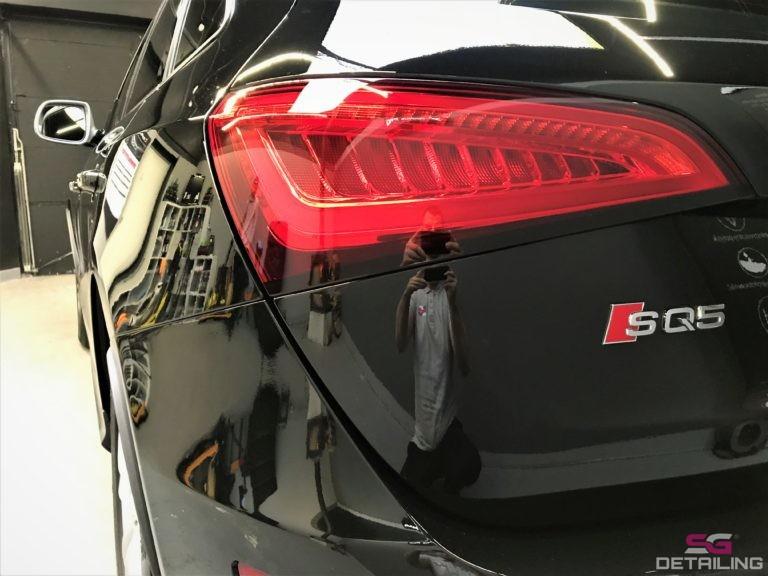 Audi SQ5 car detailing szczecin