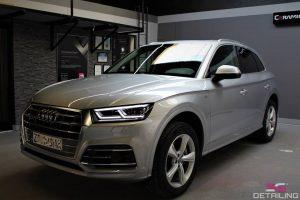 Audi Q5 polerowanie lakieru Szczecin