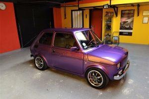 Fiat 126 p auto detailing Szczecin